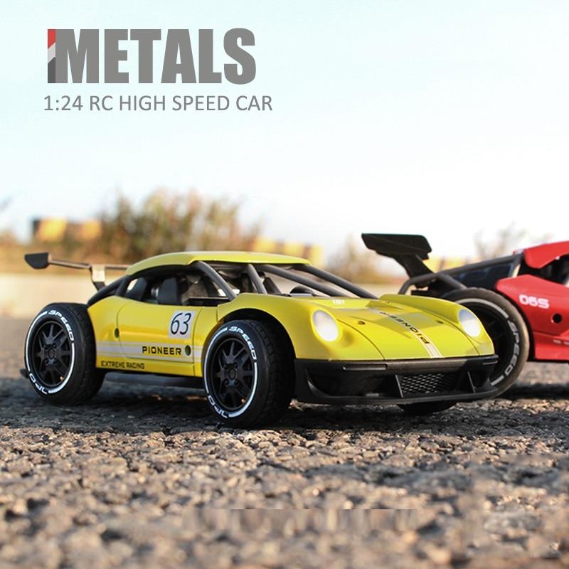 CSGOC 1/24 2.4G 4CH RC Drifting Cars Electric Mini Drift Driving High Speed Race Car Radio Control Toys for Children Boys enlarge