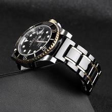 20mm 22mm bracelet de montre en céramique pour rolex série montre homme bracelet bracelet libération rapide taille réglable pour les grandes mains poignets