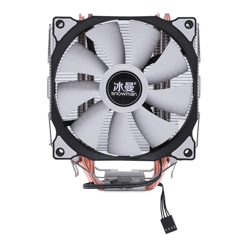 Снеговик MT-4 процессор Cooler Master 5 прямой контакт тепловые трубки замораживания башня система охлаждения процессор вентилятор охлаждения с PWM вентиляторы