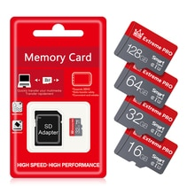Haute vitesse cartao de mémoire capacité réelle 32gb UHS-1 U1 mirco carte sd 8gb 16gb carte mémoire 64gb 128gb EVO SDXC U3 carte microsd