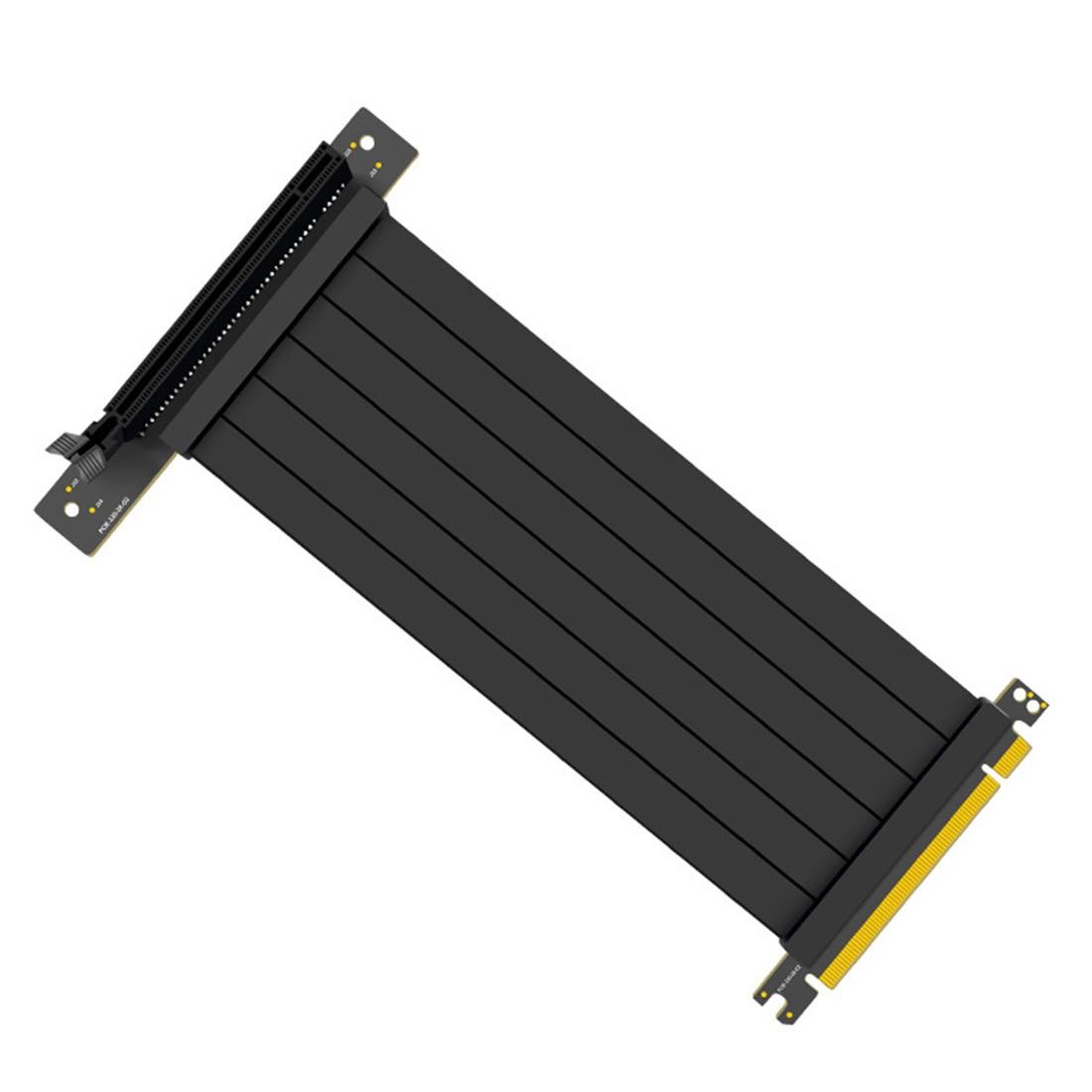 XT-XINTE PCI-E 3.0 16x عالية السرعة مرنة موسع بطاقة العالمي 90/180 درجة كابل محول ل 3060 بطاقة الجرافيك الناهض كابل