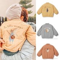 KS Baby Jacket 2021 Winter Coat Brand Design Children Unisex Jacket Fashion Winter Autumn Keep Warm Coats For Boy Girl Cake Moon