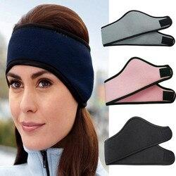 Unissex mulheres orelha mais quente inverno cabeça banda de esqui orelha muff bandana cabelo banda earmuffs