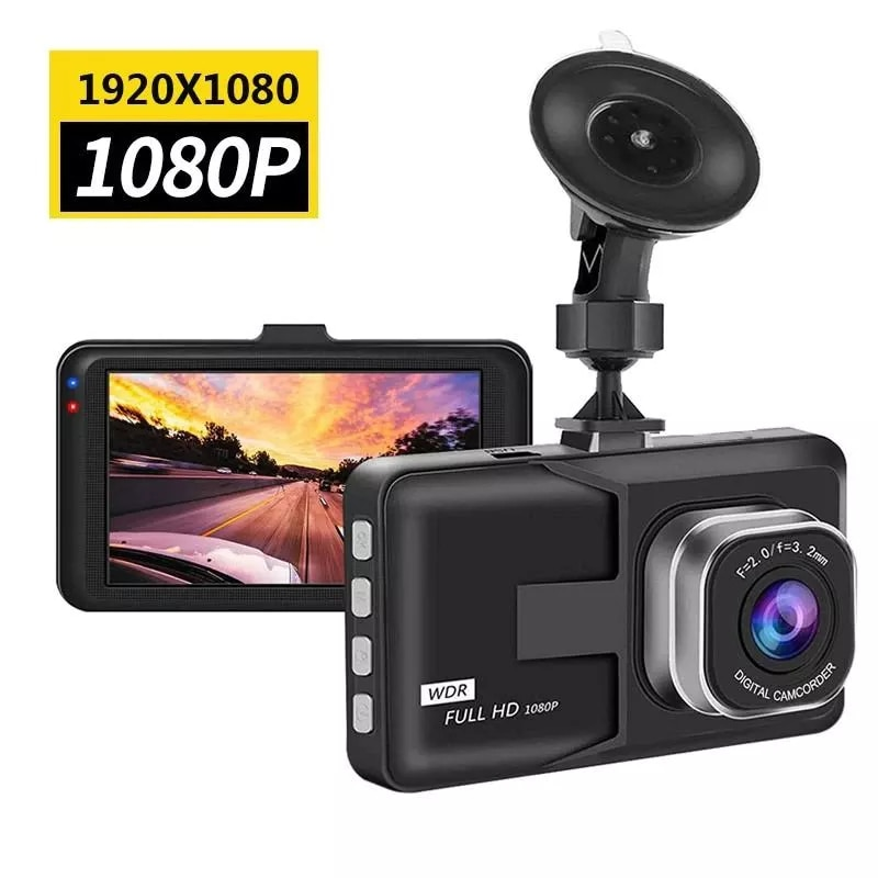 3-дюймовый полный видеорегистратор 1080P, зеркальная камера, видеорегистратор, видеорегистратор, камера для мониторинга парковки видеорегистратор avs vr 802shd черный