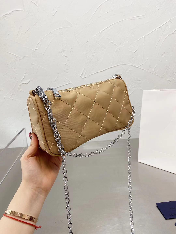 Hiboom 2021 موضة جديدة تصميم حقيبة يد من النايلون لتصميم العلامة التجارية الفاخرة