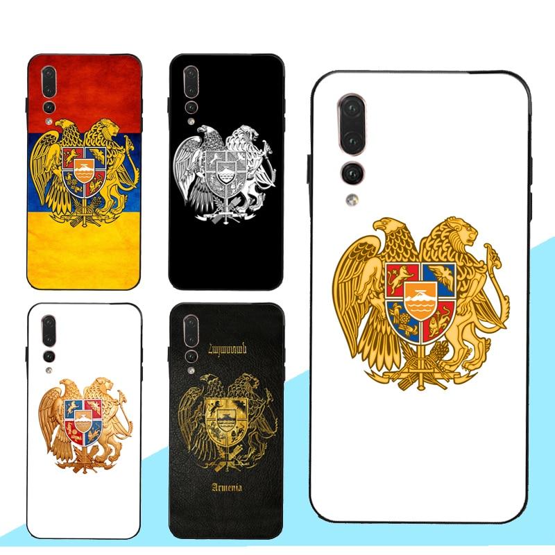 Armenia, el escudo de armas de la bandera funda para Huawei Honor 7A Pro 7C 8X 9X 10i 9 10 20 Lite 8A 8C 8S Y6 Y9 Y7 2019 Nova 5T