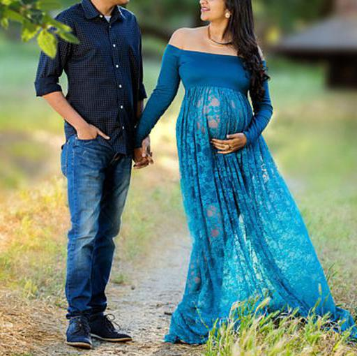 Pregnant Dress Photographie Lace Dress Pregnancy Maxi Maternity Gown Pregnant Dress For Photo Shoot  Maternity Dress Plus Size enlarge