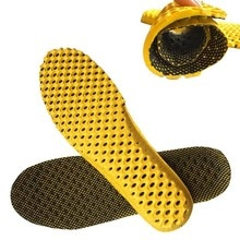 1 Pair Breathable Deodorant Shoes Insoles Orthopedic Memory Foam Sport Arch Support Insert Women Men