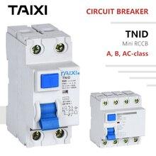 Protecteur de fuite disjoncteur classe B   Courant résiduel électromagnétique AC 16A 50A 63A 80A 100A AC RCBO RCCB type B MCB