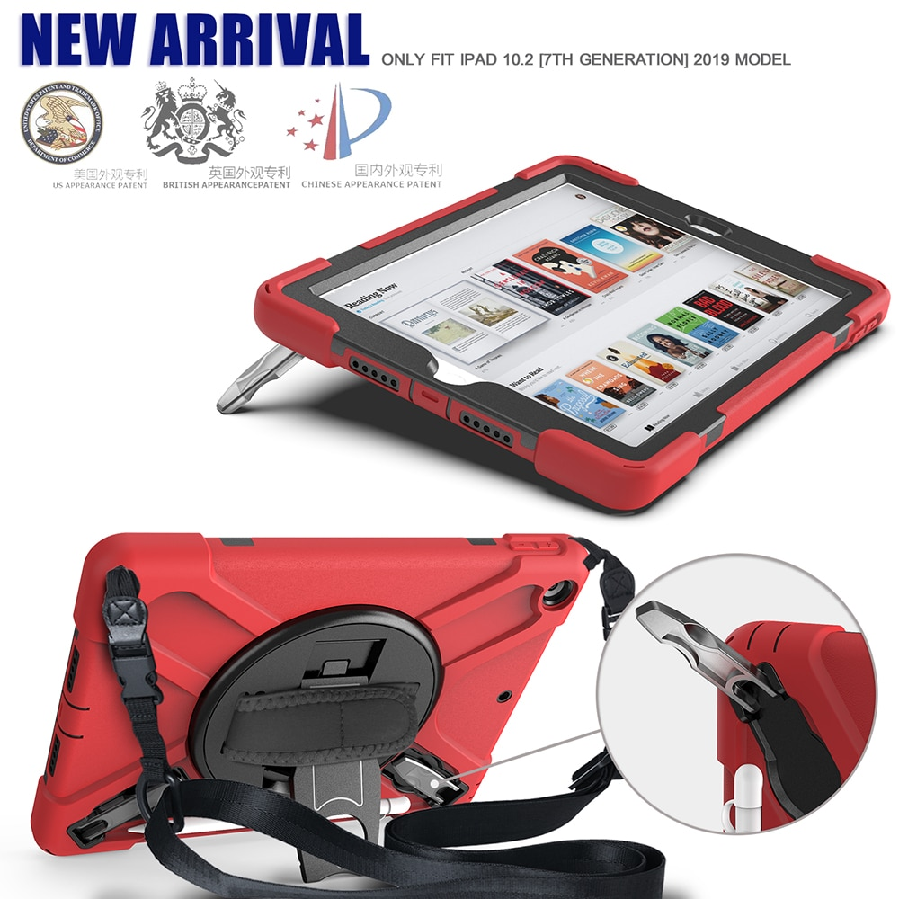 A2270 10.2 Armor A2428 A2198 A2197 A2200 Shokproof Cover Heavy Kids Case for iPad A2429