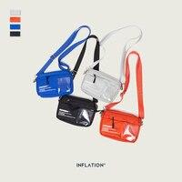 Надувная сумка-мессенджер унисекс, модная мини-сумка из пвх на ремне, спортивный однотонный поясной Повседневный Рюкзак, 239AI2019, мобильный те...