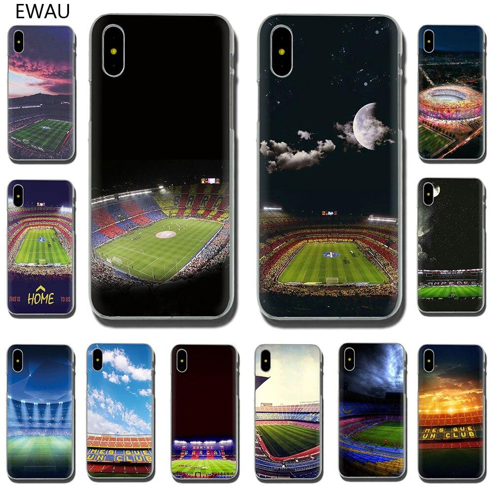 EWAU Espanha Barcelona Estadio Camp Rígido case capa do telefone para o iphone 11 Pro 6 6S Plus 7 8 Plus X XS XR XS Max