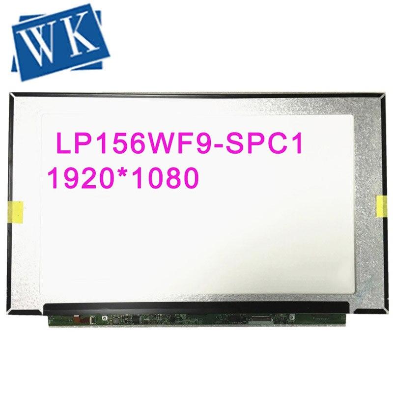 شاشة LCD LED مقاس 15.6 بوصة لجهاز Dell Inspiron 15 7560 7572 P61F LP156WF9 SPC1 N156HCA EA1 FDH 1920X1080 EDP 30 شاشة بديلة