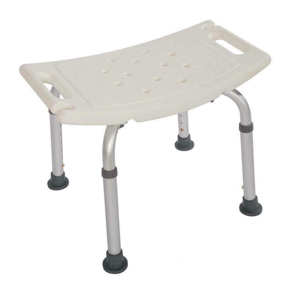 Non-slip Bath Chair 7 Gears Height Adjustable Elderly Bath Tub Shower Chair Bench Stool Seat Safe Bathroom Environment Product