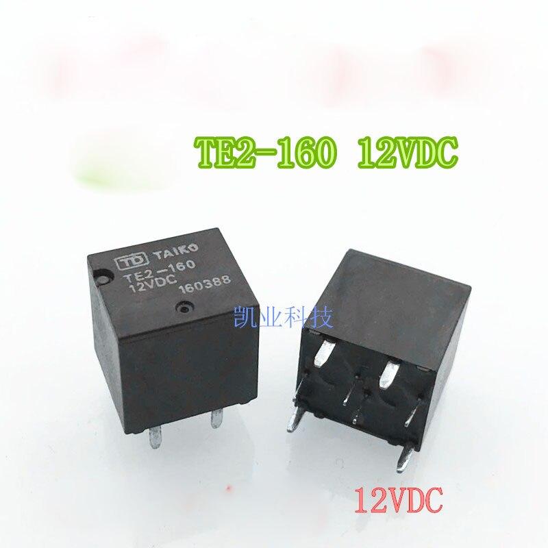 TE2-160 12VDC TE2-160-12VDC TE2 160 TE2160 12VDC DC12V relé Carro DIP8 10 pçs/lote