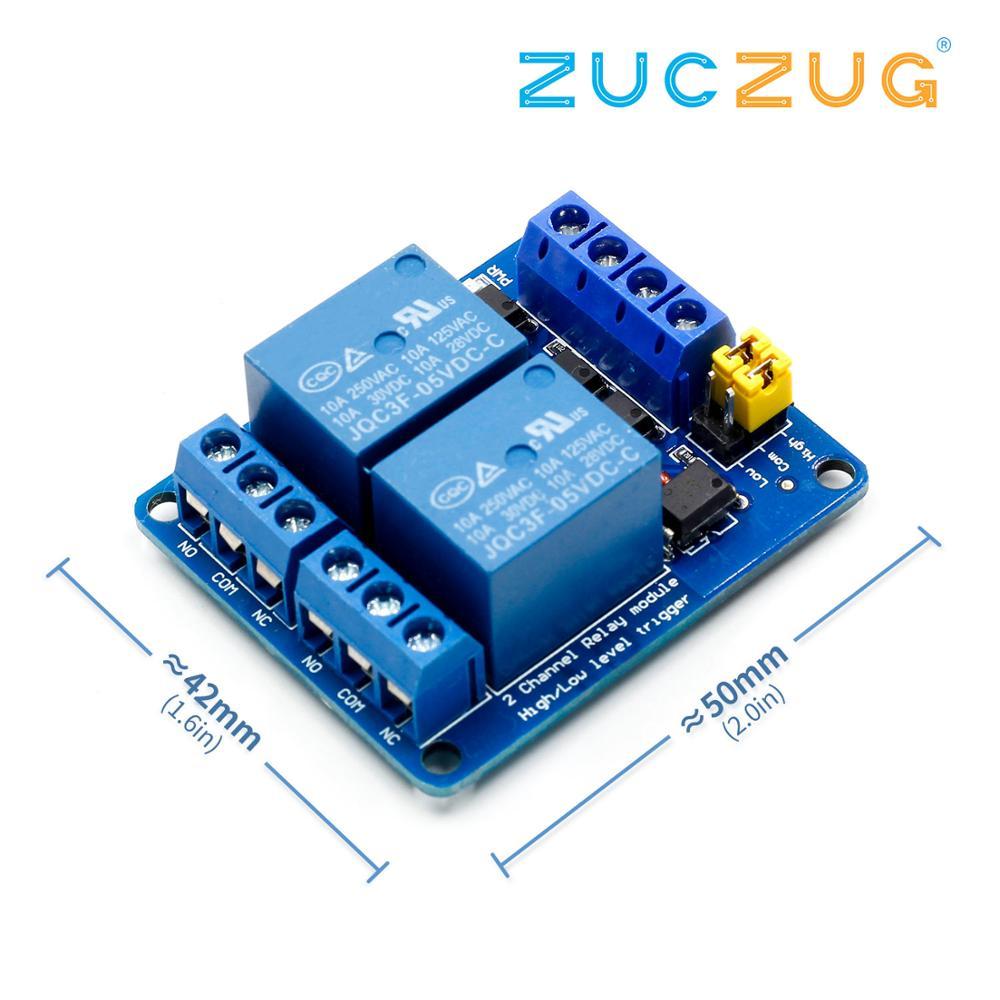 3,3 В 5 в 12 В 24 В 2 канальный релейный модуль высокого и низкого уровня триггера двойной оптрон изоляционный релейный модуль
