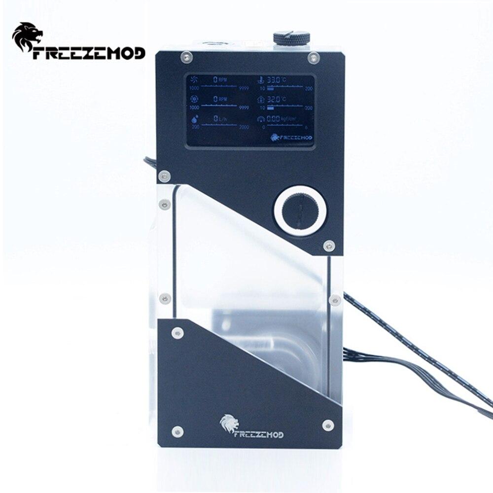 مبرد مياه خزان مضخة متكاملة ضغط الهواء سرعة تدفق معدل ودرجة الحرارة عرض PUB-FXDDC