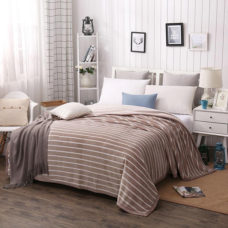 Manta a rayas con diseño de flamenco, cubrecamas, manta para sofá cama, manta suave y cálida de regalo para viajes