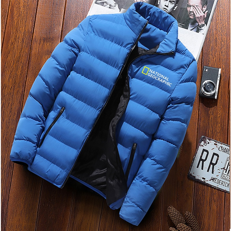 Осенне-зимняя мужская Ультралегкая куртка на белом утином пуху, мужская куртка, уличная зимняя мужская повседневная пуховая куртка, пальто