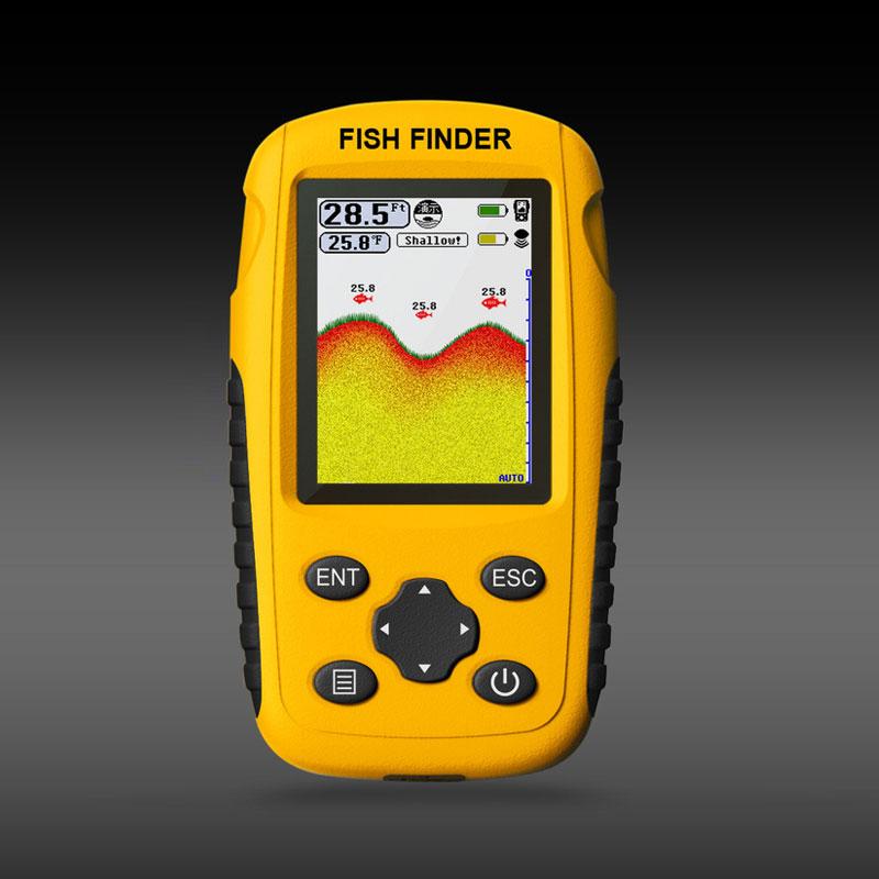 Portable Rechargeable Fish Finder Wireless Sonar Sensor Fishfinder Depth Locator Fishing Tools Fish Finder Wireless enlarge