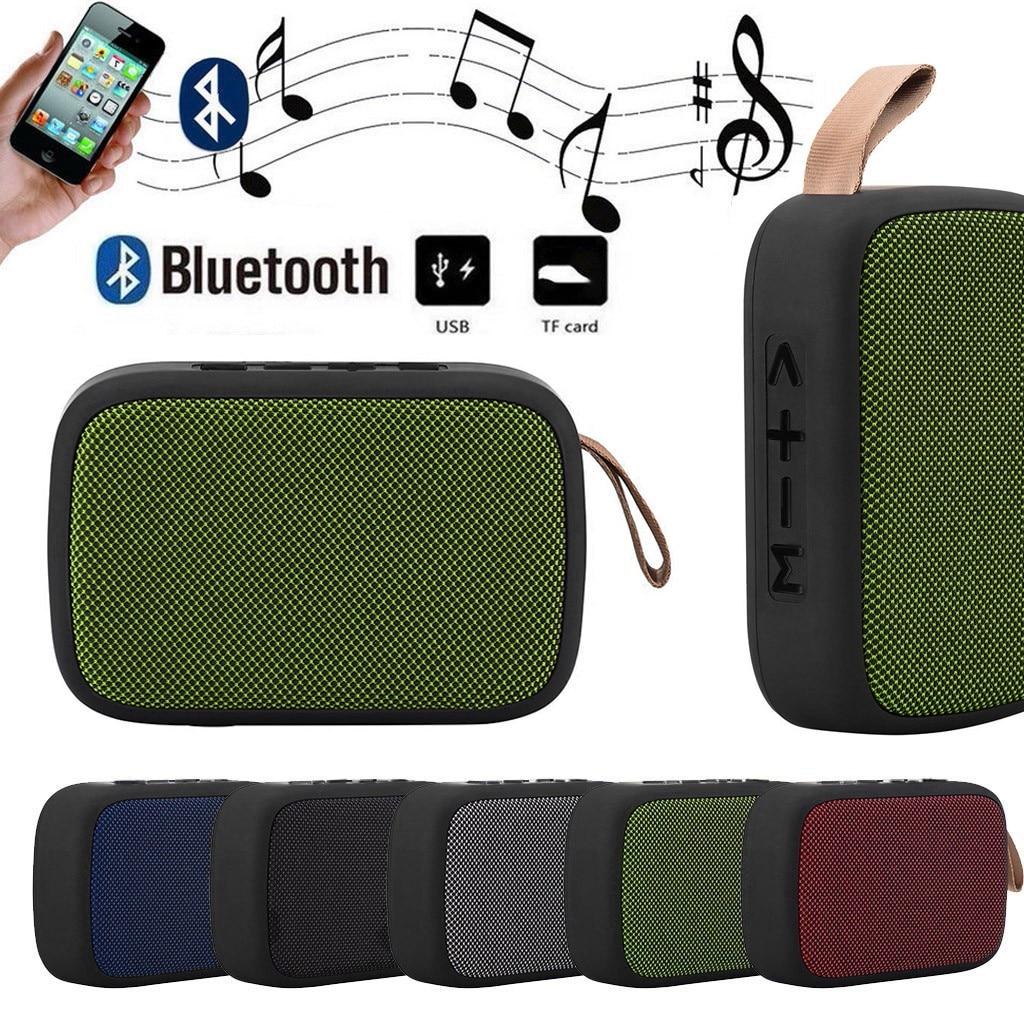 Altavoz portátil inalámbrico con Bluetooth, estéreo, tarjeta Tf, Fm, para Smartphone, tableta,...