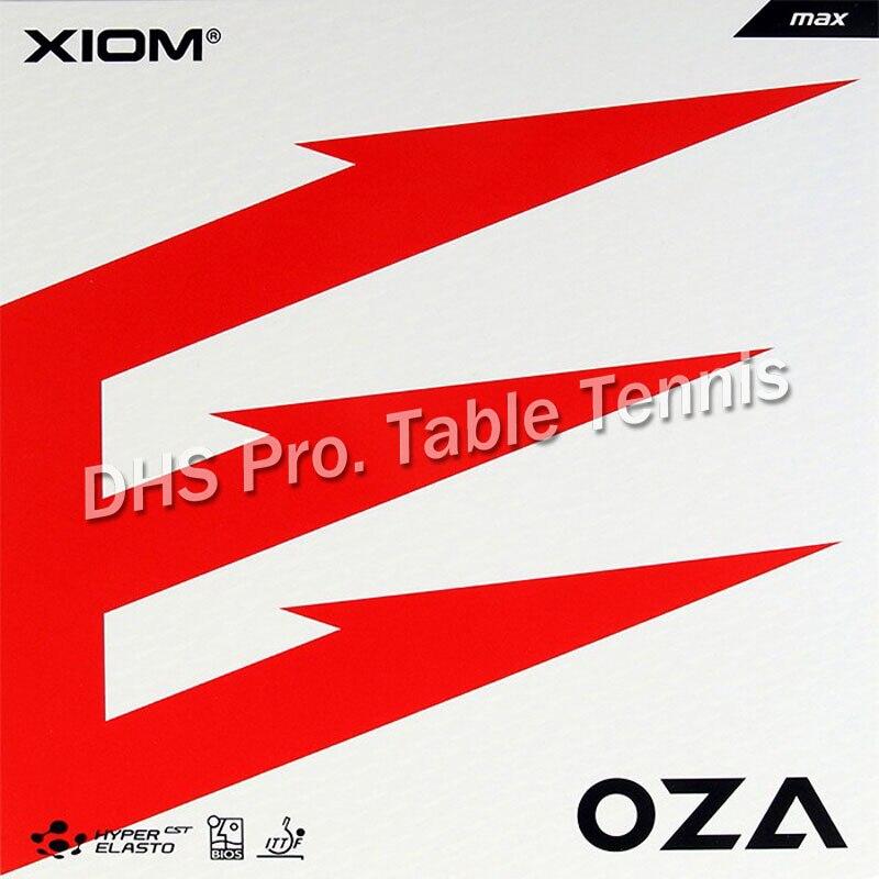 2019 nuevo Xiom Oza 79-061 Tenis de Mesa goma granos con Ping Pong esponja Max