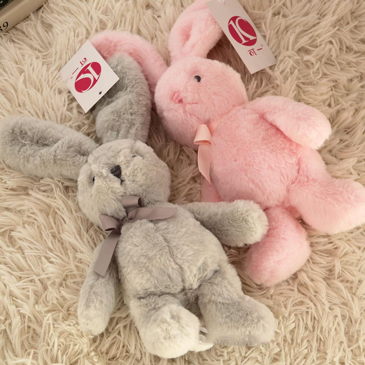 Лидер продаж, милый имитационный кролик, подвеска, плюшевые игрушки, плюшевые животные, детские подарки, плюшевая игрушка для детей, 22-25 см