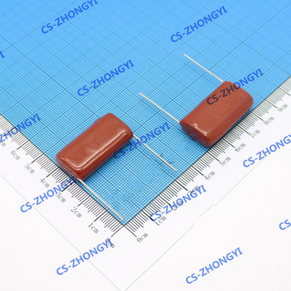 5PCS CBB22 Metallisierten Film Kondensator 400V335J 3300NF 3,3 uF 400V685J 6800NF 6,8 UF Fuß Abstand P = 30MM ± 5%