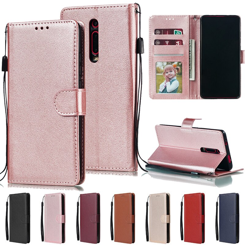 Redmi Note 9 Pro Max 8 8T 7 6 Pro 5A Prime Flip Wallet Leather Case For Redmi 4A 4X 5 6 7 7A 8 8A 9