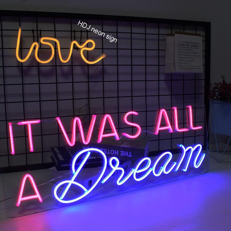 الأصلي LED النيون تسجيل مخصص ضوء ل الزفاف مكتب الأحداث بار الأطراف المنزل خلق رسالة شعار تصميم داخلي جدار ديكور