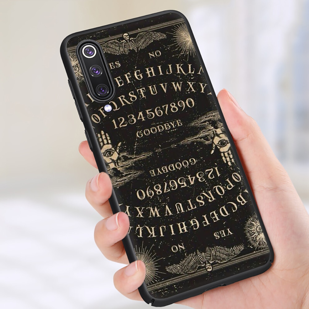 Ouija Board Silicone Phone Case for Xiaomi 6 8 10 A1 A2 A3 Lite 9 9T 10 Pro F1 Mix 2S Max 3