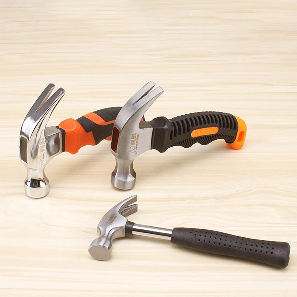 Garra martillo portátil compacto herramienta portátil sólido un martillo cabeza de hierro martillo doméstico