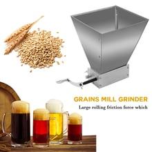 New Professional Stainless Steel Malt Corn Food Grinder Whole Grains Mill Grinder Food Processors Large Manual Powder Machine