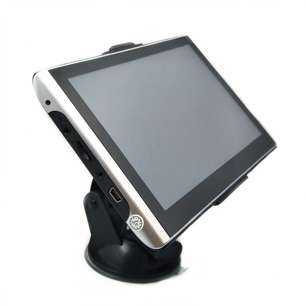 "7 ""Pantalla táctil coche GPS navegación coche MP3/MP4 Radio coche FM Radio mapas gratis Bluetooth AV-IN y cámara de visión trasera inalámbrica opcional"