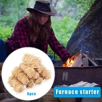 portable outdoor fire starter multipurpose wooden firestarter for camping hiking barbecue easy operation kitchen accessories