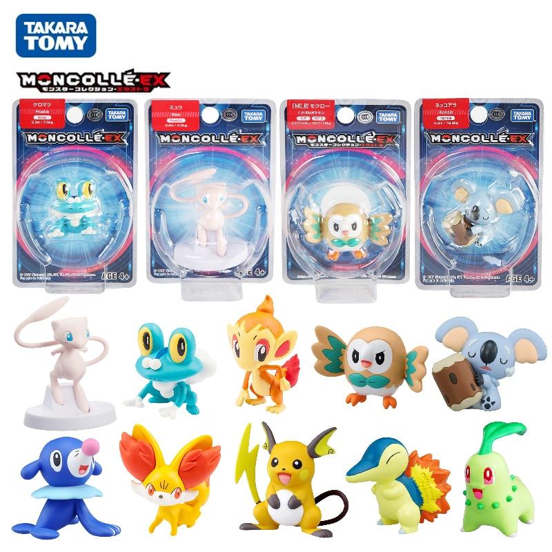Фигурки аниме TAKARA TOMY, фигурки покемонов, меч и щит, солнце и луна, Пикачу, Mew Snorlax, экшн-фигурки, игрушки, подарок для детей