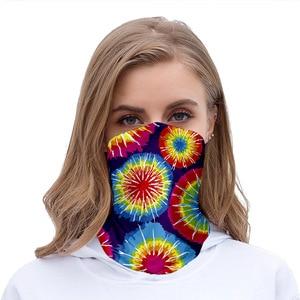 Multi Style Printed Retro Headscarf Men Women Sports Neck Scarves Outdoor Cycling Bandanas Headwear Breathable Hiking Scarf