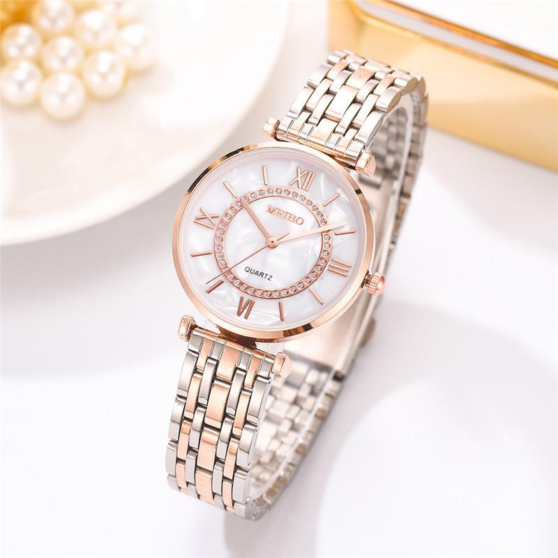 Women Watches Top Brand Luxury 2020 Fashion Diamond Ladies Wristwatches Stainless Steel Silver Mesh Strap Female Quartz Watch enlarge
