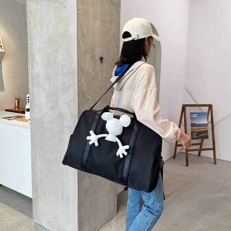 Disney Shoulder Bag Messenger Travel Female Bag Mickey Cartoon Travel Shopping Bag Fashion Computer Bag Handbag
