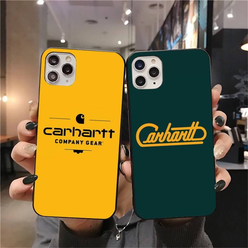 Elegante roupas carhartt caso de telefone para iphone 11 pro xs max 8 7 6s plus x 5S se 2020 xr