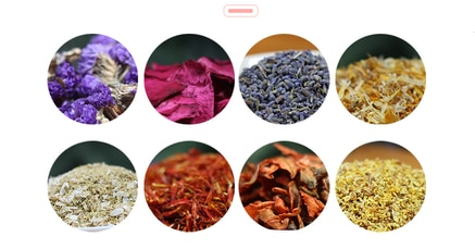 Jabón hecho a mano con flores secas, pétalos secos de rosa, bolsita de flores de lavanda y caléndula, zeep maken