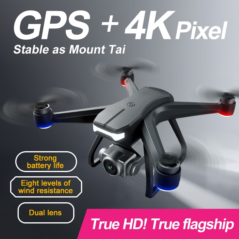 New F11 PRO GPS Drone 4K 6K Dual HD Camera Brushless Motor Professional Aerial Photography Quadcopter RC Distance1200M enlarge