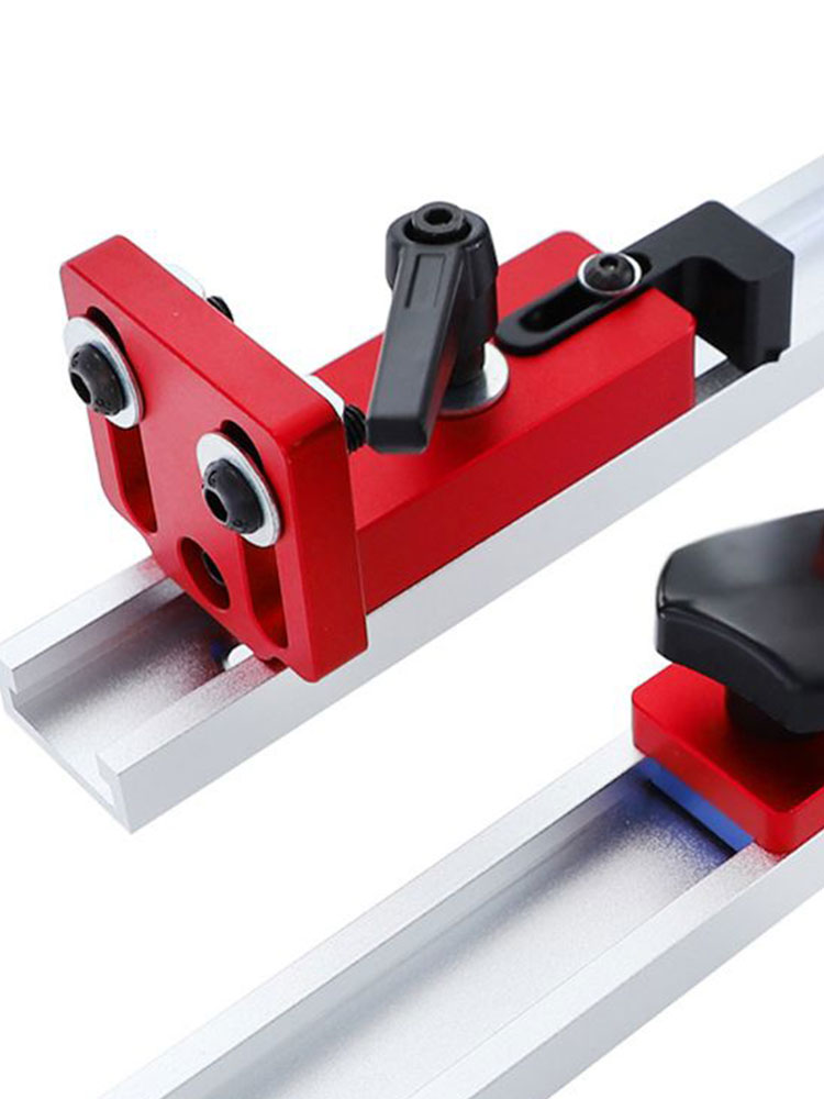 Aluminium 30/45 Type Woodworking Track Stop T-Slot Miter Stop Woodworking Machinery Parts