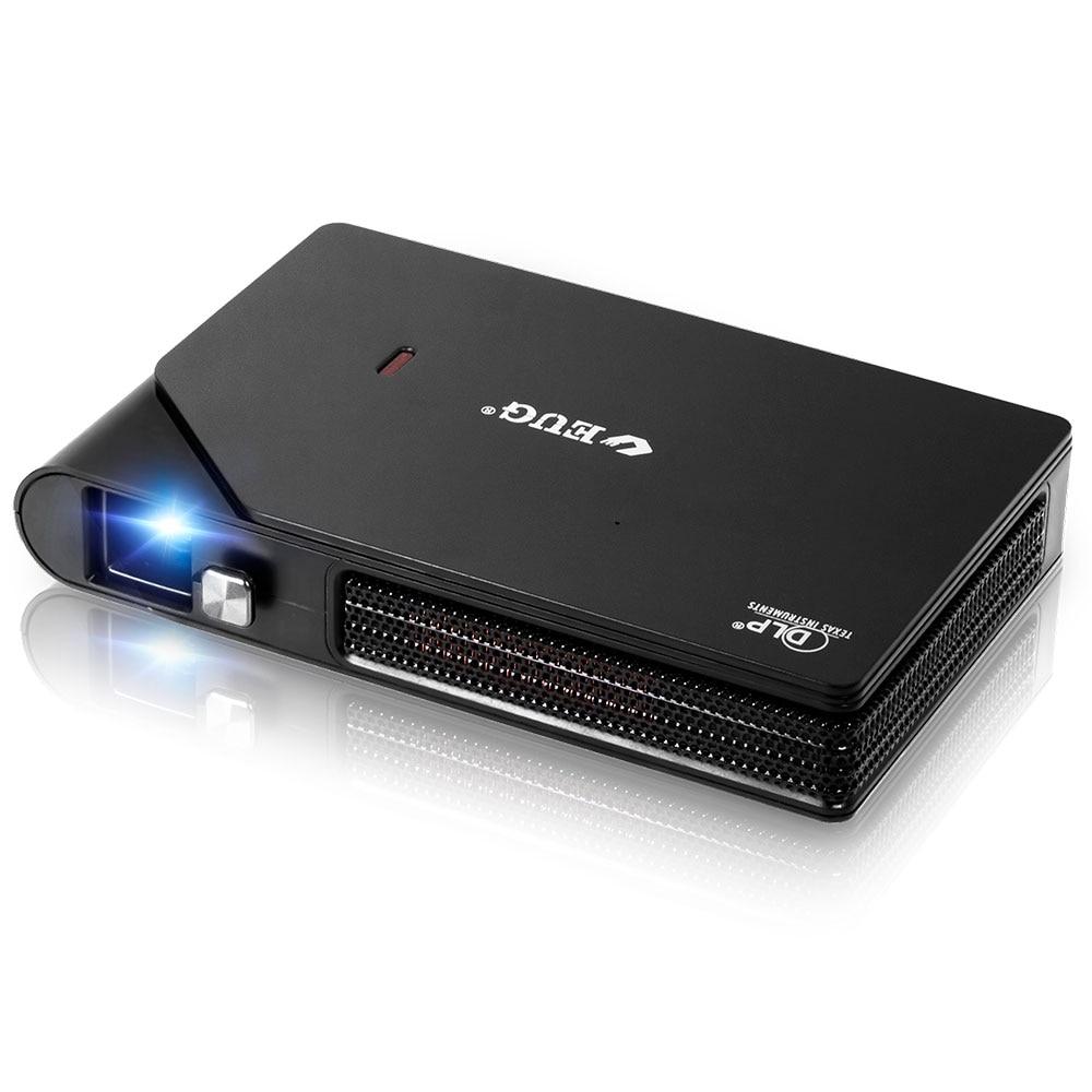 Dlp ثلاثية الأبعاد العارض المحمولة واي فاي Usb Led نظام مسرح منزلي 3600 لومينز 720P HD اللاسلكية Airplay جيب أجهزة العرض الذكية شعاع