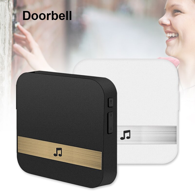 Wifi inalámbrico Video inteligente timbre 433MHz música caja de música receptor timbre de la puerta casa intercomunicador de seguridad SP99