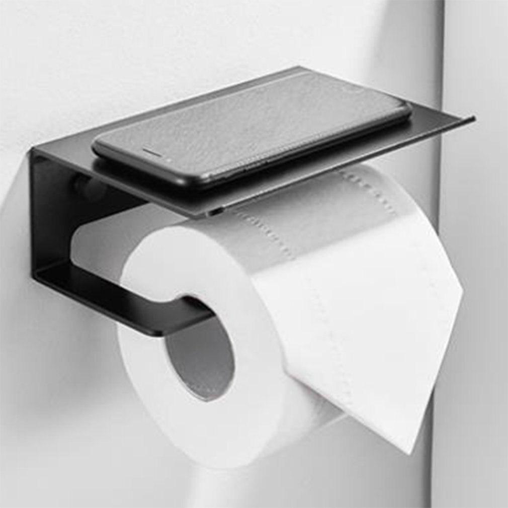 Kitchen Paper Roll Holder Towel Hanger Rack Bar Cabinet Rag Shelf tissue towel Wc Bathroom accessories Toilet Paper Holders