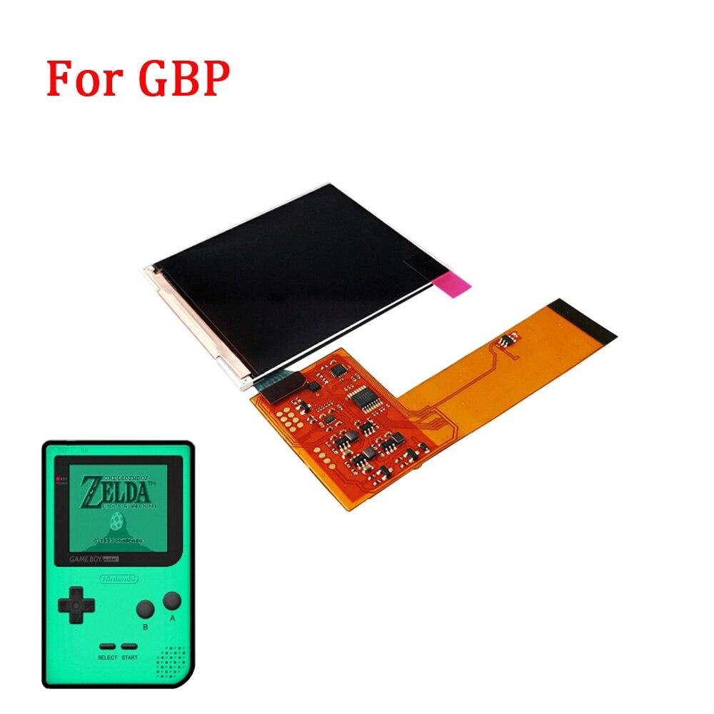 Full IPS Screen For GBP IPS LCD Retro PIXEL Kit High Light Backlight Brightness 36 retro color combinations FOR GAMEBOY POCKET