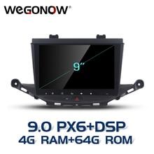 "HD 9 ""أندرويد 9.0 لأوبل أسترا K 2016 2017 4 جيجابايت رام 64 جيجابايت ROM 8 الأساسية سيارة تحديد مواقع لمشغل أقراص دي في دي غلوناس خريطة RDS راديو واي فاي بلوتوث 4.2"