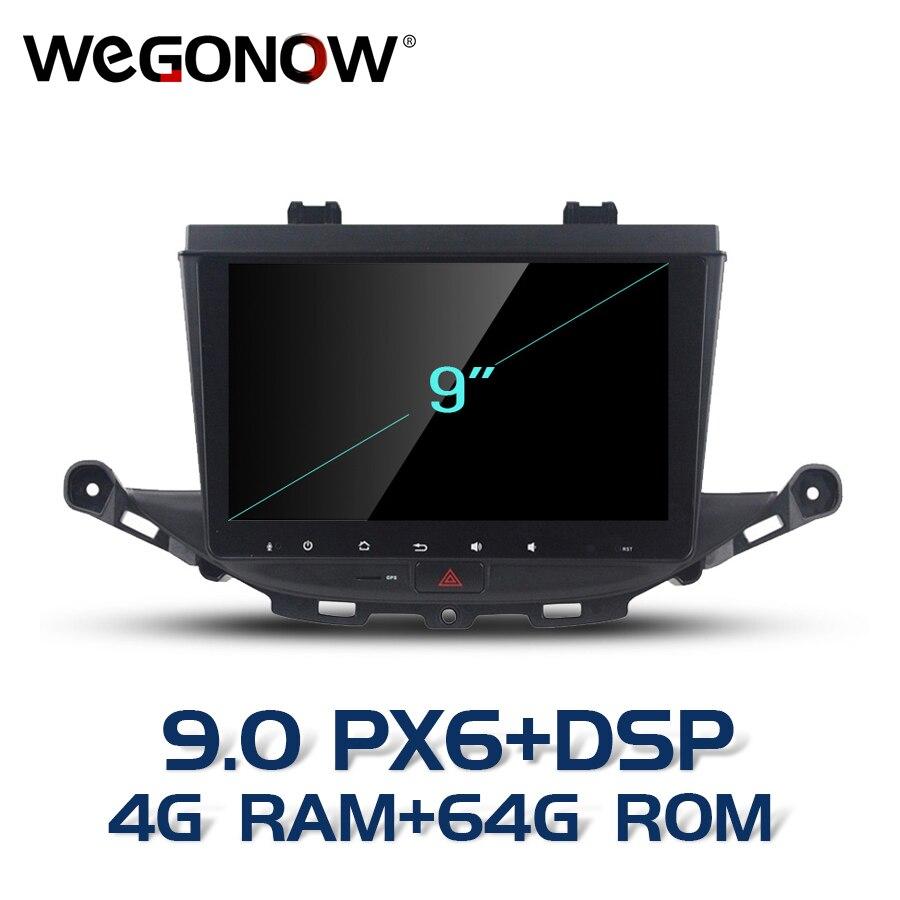 "Pantalla HD 9 "", Android 9,0, para Opel ASTRA K 2016 2017, 4GB de RAM, 64GB de ROM, reproductor de DVD de 8 núcleos para coche, GPS, mapa Glonass, RDS, Radio, Bluetooth 4,2"