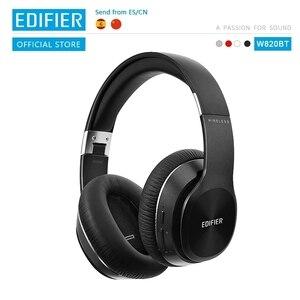 Bluetooth наушники EDIFIER W820BT, технология CSR, складные беспроводные наушники с двойным аккумулятором до 80 часов воспроизведения